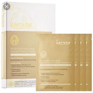 Karuna 4 pack hydrating face masks