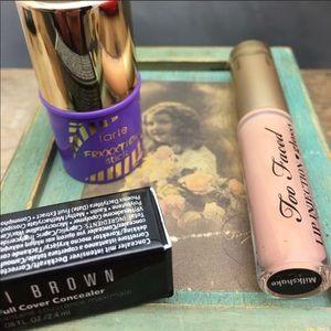 Bobbie Brown Two faces and Tarte makeup bundle