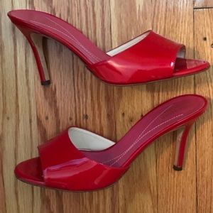 Kate Spade Red Patent Leather Heels