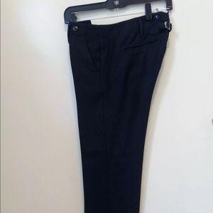 Anthropologie Paperboy Wool Blend Ankle Pants