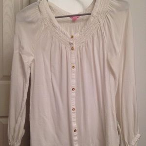Lilly Pulitzer button down - XS