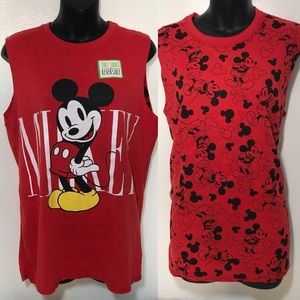 NWT Disney Mickey Mouse Reversible Tank Top