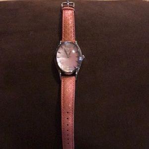 Pink Invicta snakeskin watch