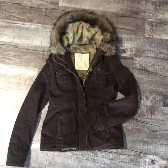 Abercrombie & Fitch Jackets & Blazers - Abercrombie & Fitch fur coat