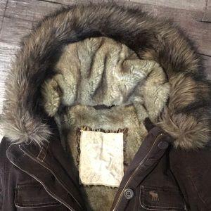 Abercrombie & Fitch Jackets & Coats - Abercrombie & Fitch fur coat
