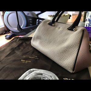 Kate Spade Pebbled Leather Charles Street Brantley