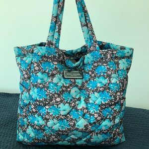 Marc Jacobs quilted nylon tote bag, wild flowers