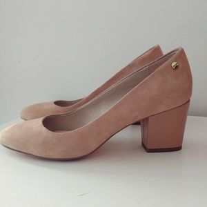 Calvin Klein suede Kasey heels