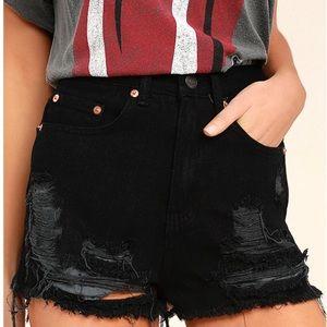 Lulus - Denim Shorts