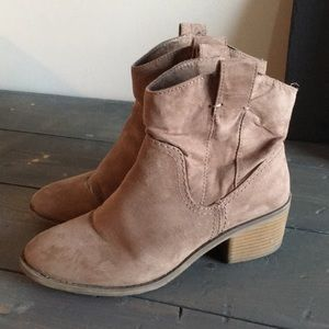 Classic ankle booties