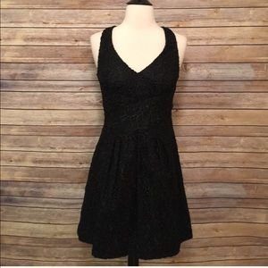 Anthropologie Leifsdottir Black Dress