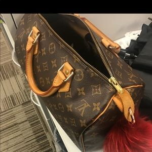 Louis Vuitton speedy 30 & Josephine wallet