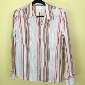 Ann Taylor button up shirt size 12