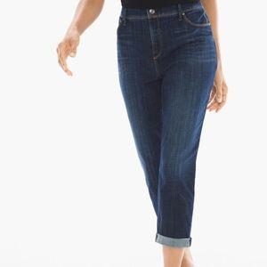 Chico's 2.5 So Slimming Girlfriend Crop Jeans