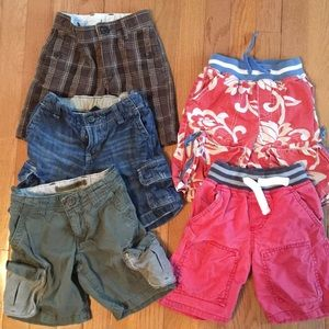 Lot of 5 pairs of shorts