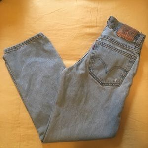 Vintage Levis   Relaxed Fit Student 550