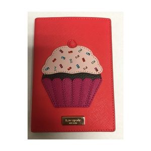 Kate Spade Take The Cake Cupcake Passport Wallet