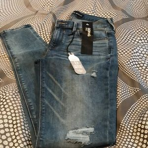Express mid-rise jegging. Size 4.  NWT
