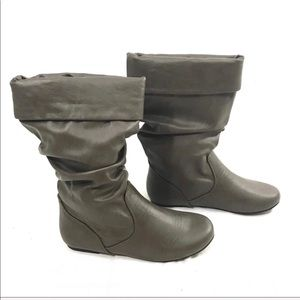 New without box Taupe Riding Boots