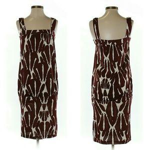 DVF Silk Dress
