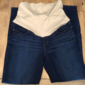 Loft full panel skinny maternity jeans size 4