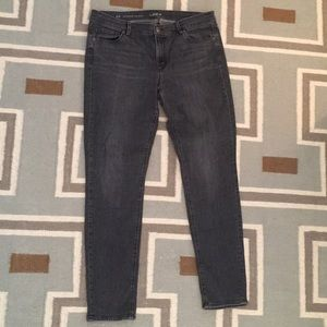 Ann Taylor LOFT modern skinny gray jeans 31/12