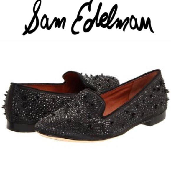 c444cb47dff314 🎉Sam Edelman Adena Studded Black Flats Size 6. M 5a2feef8a88e7d0de1033a07