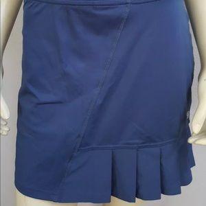 Pants - Lija Blue pleated tennis skirt skirt