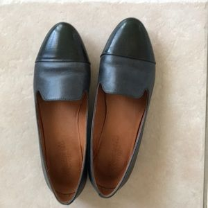 Madewell size 6 ballerinas leather