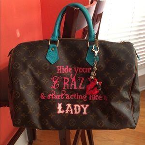 Authentic Lv speedy35 bag