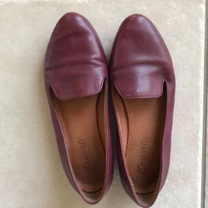 Madewell size 6 loafers leather