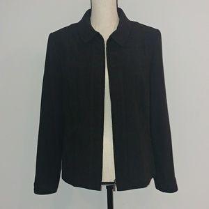 Black classy blazer jacket