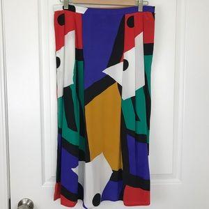 Vintage colorful skirt