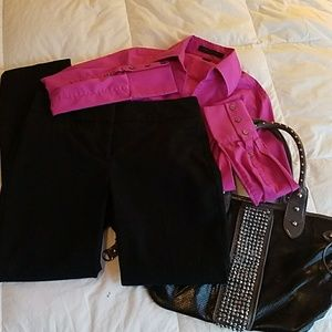 Chic and comfy black pants