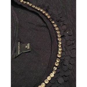 Ann Taylor T-shirt M with embellishments