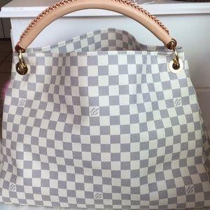 Louis Vuitton ARTSY MM Damier Azur