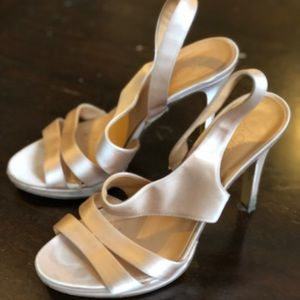 J. Crew champagne colored dress shoes