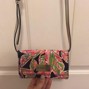 Lilly Pulitzer cross body purse/wallet