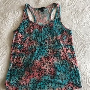 Blue and Pink tank