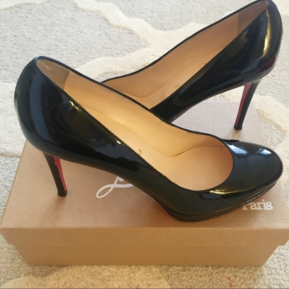 34060c961e coupon code for christian louboutin decollete 554 100mm pumps black  watersnake 4f826 526cb; germany christian louboutin simple pump 100mm 88b78  c8e6e