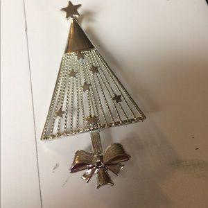 Christmas tree pin or pendant