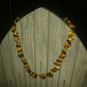 🎉HP🎉Genuine Raw Baltic Amber Teething Necklace