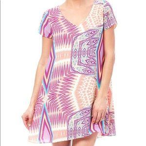 "{S} Buddy Love ""Bali Print"" Swing Dress"