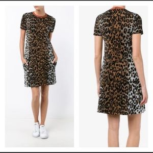 NWOT Stella McCartney Leopard-Print Shift Dress 38