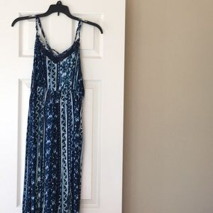 Target blue maxi dress