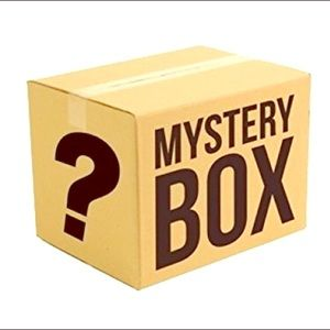 MYSTERY BEAUTY BOX! 5 BRAND NEW FULLSIZE PRODUCTS!