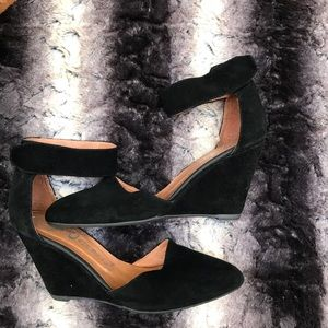Jeffrey Campbell suede Strappy wedges!