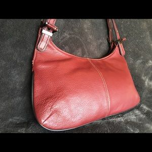 Nine West wine red leather purse