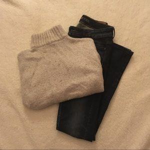 Turtleneck AE sweater