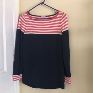 Size Large Lilly Pulitzer Sweater- navy/pink